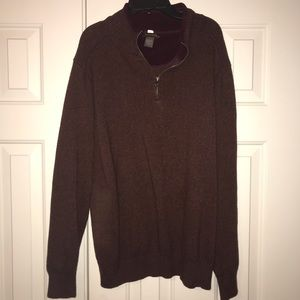 EUC Dockers Zip Sweater Size XL.